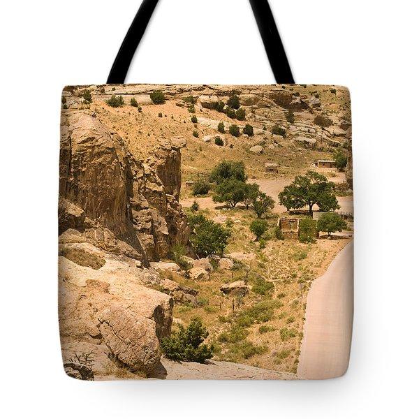 Southern Mesa View Tote Bag