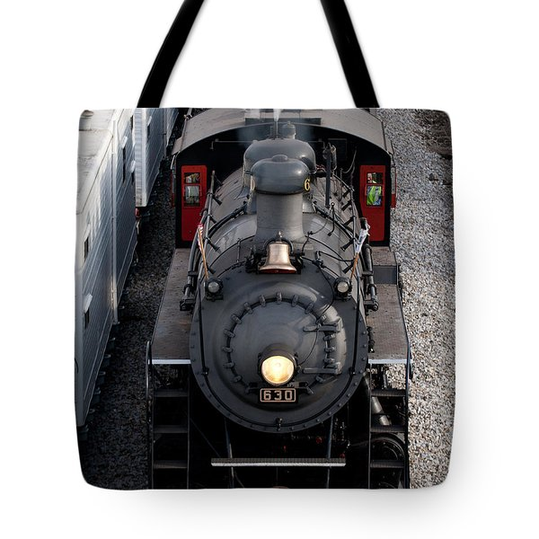 Southern Railway #630 Steam Engine Tote Bag
