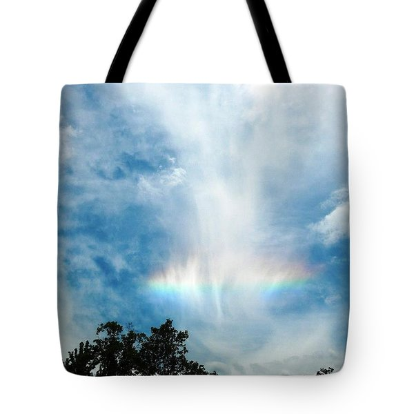 Southern Rainbow Cloud Tote Bag