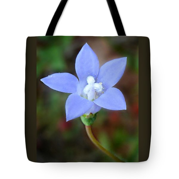 Tote Bag featuring the photograph Wild Southern Rockbell  by William Tanneberger