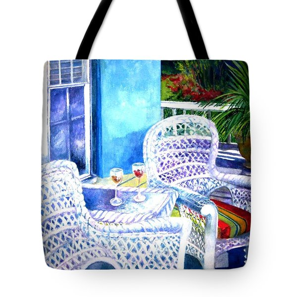 Southernmost Happy Hour Tote Bag