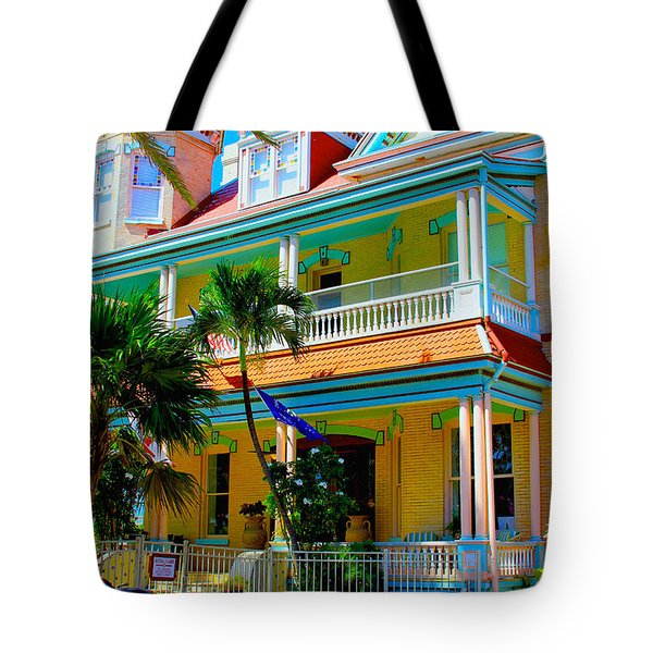 Southernmost House Tote Bag