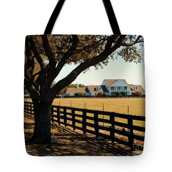 Southfork Ranch - Across The Pasture Tote Bag