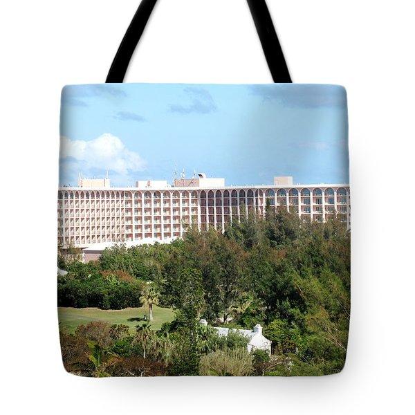 Southhampton Princess Bermuda Tote Bag by Ian  MacDonald