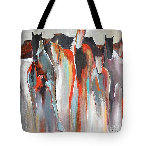 Southwest Tote Bag by Cher Devereaux