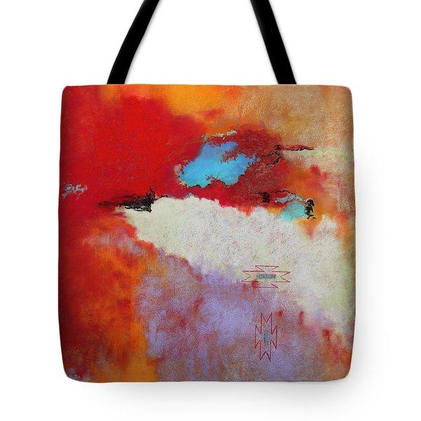 Southwest Color Burst Tote Bag by M Diane Bonaparte