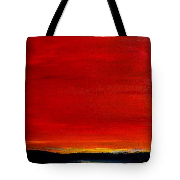 Southwest Desert Sunrise Tote Bag