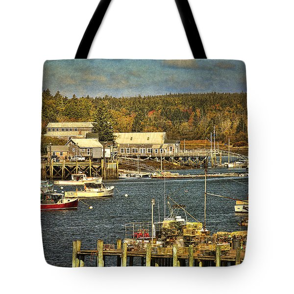 Southwest Harbor Tote Bag