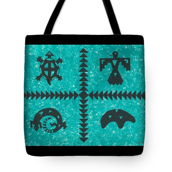Southwest Symbols Tote Bag