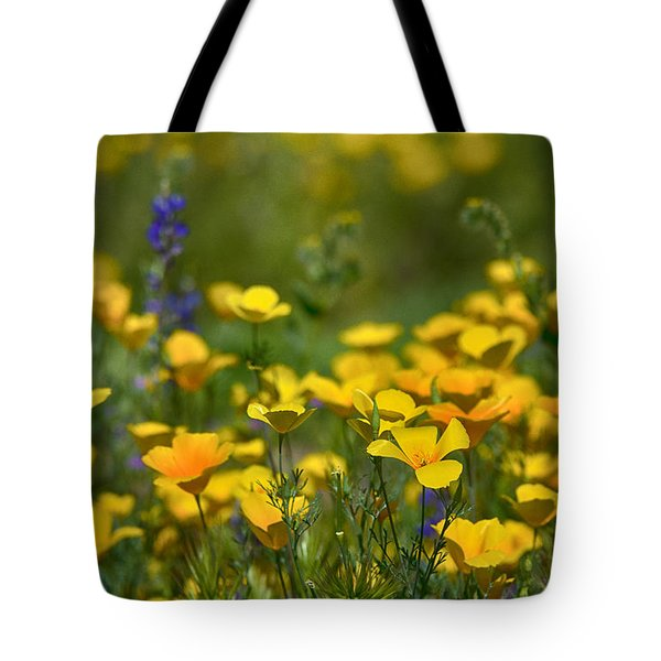Southwest Wildflowers  Tote Bag by Saija  Lehtonen