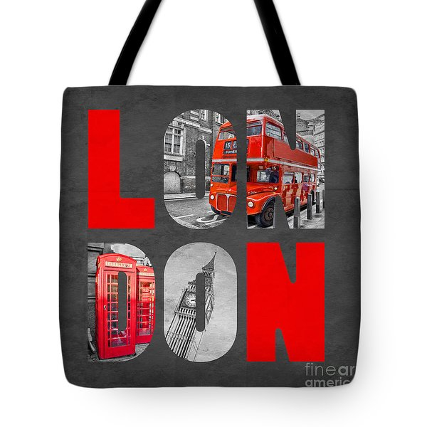 Souvenir Of London Tote Bag