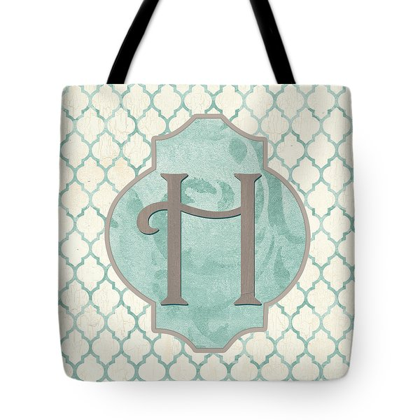Spa Monogram Tote Bag