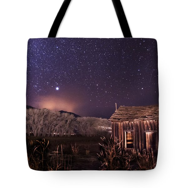 Space And Time Tote Bag by Cat Connor
