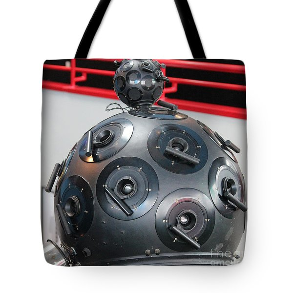 Tote Bag featuring the photograph Space Balls by Cynthia Snyder