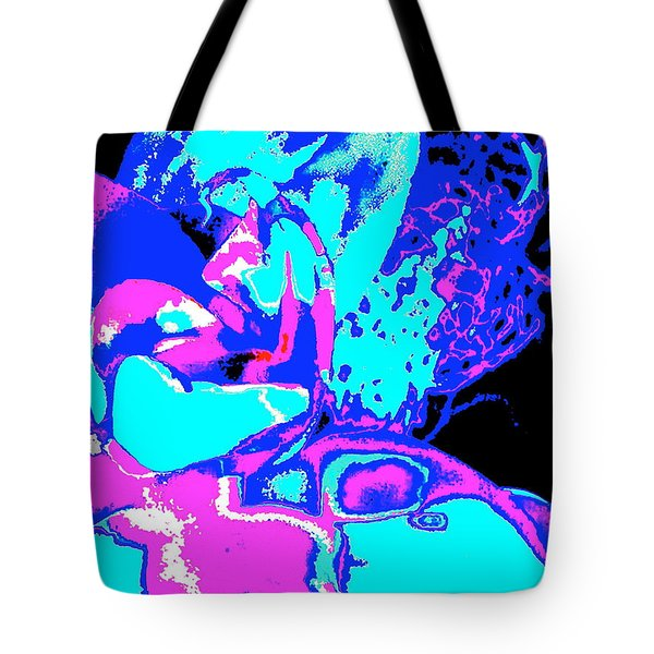 Space Collision Tote Bag