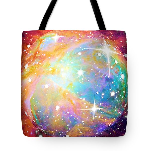 Tote Bag featuring the photograph Space by Elizabeth Budd