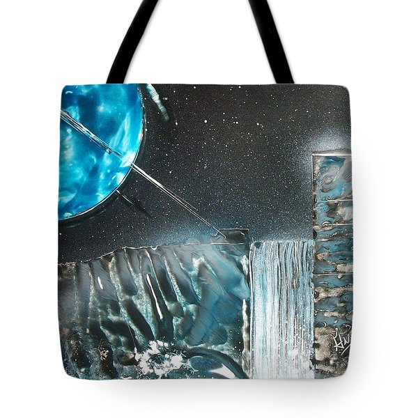 Space-fall Tote Bag
