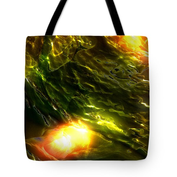 Space Fall Tote Bag