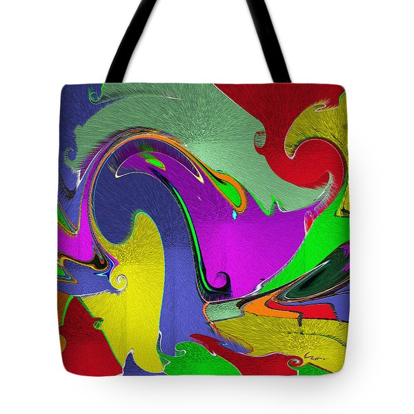 Space Interface Tote Bag