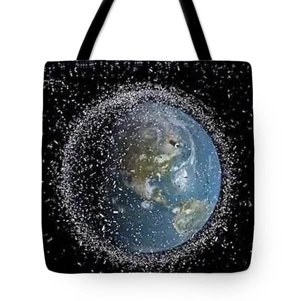 Tote Bag featuring the photograph Space Junk by Science Source