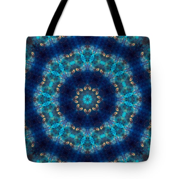 Space Kaleidoscope Tote Bag