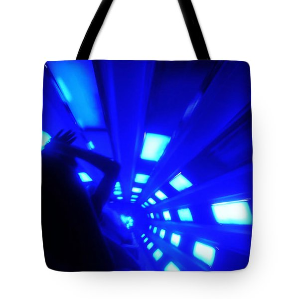 Space Mountain Blast Off Tote Bag by David Lee Thompson