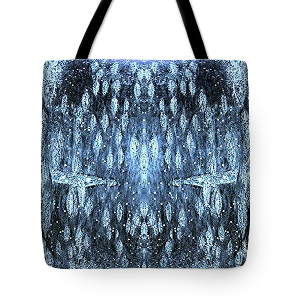 Tote Bag featuring the digital art Space Sentinels by Stephanie Grant