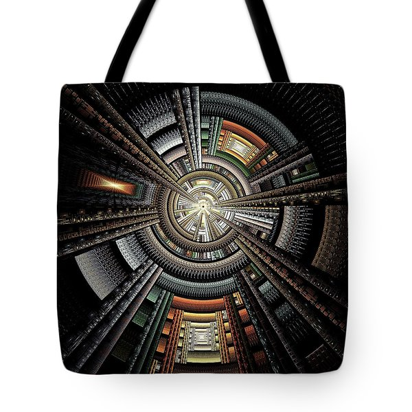 Space Station Tote Bag by Anastasiya Malakhova