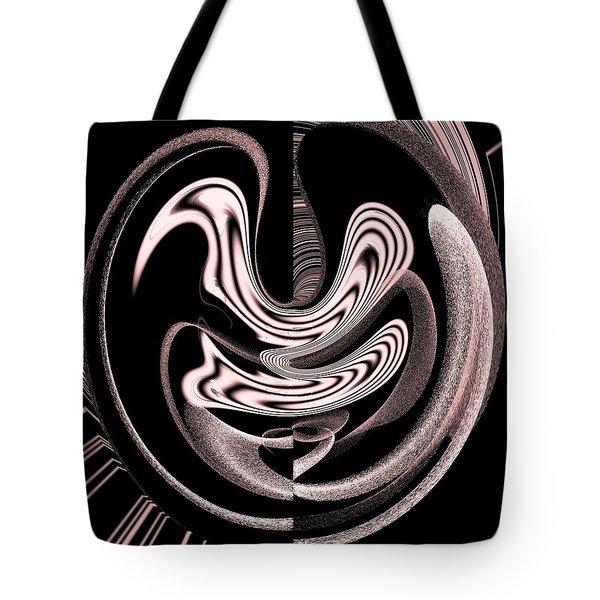Space Time Continuum Tote Bag by Georgeta  Blanaru