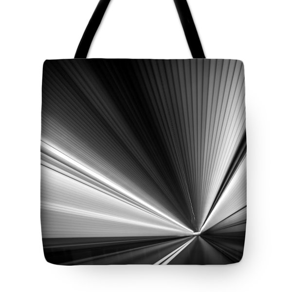Tote Bag featuring the photograph Space-time Continuum by Mihai Andritoiu