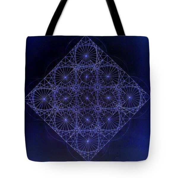 Space Time Sine Cosine And Tangent Waves Tote Bag