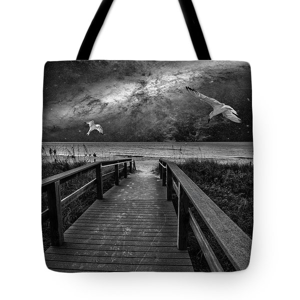 Space Walkway Tote Bag