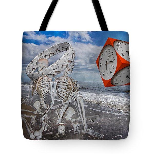 Spacexmatterxtimexx Tote Bag