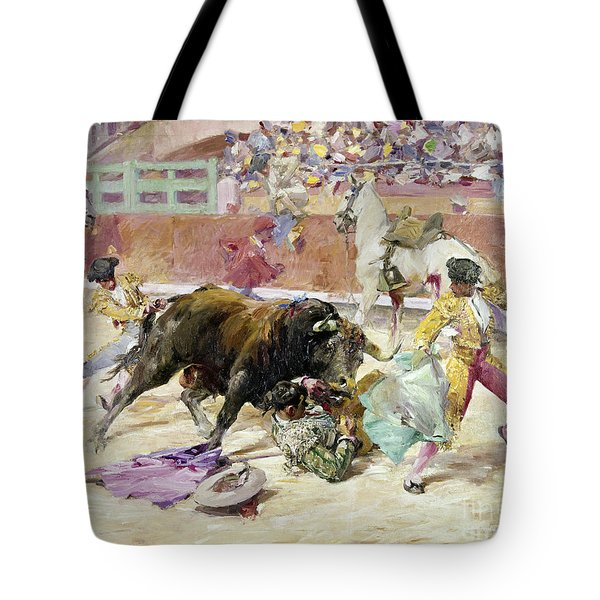 Spain - Bullfight C1900 Tote Bag by Granger