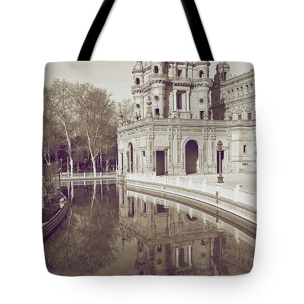 Spain 1 Tote Bag by Simone Ochrym