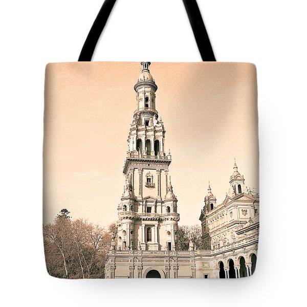 Spain 2 Tote Bag by Simone Ochrym