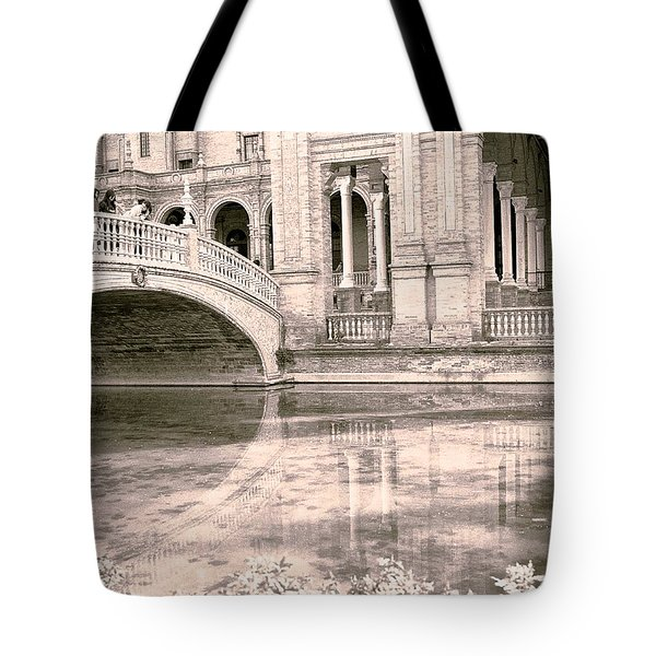 Spain 3 Tote Bag by Simone Ochrym