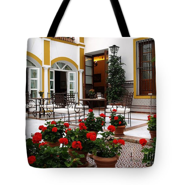 Tote Bag featuring the photograph Spain by Haleh Mahbod