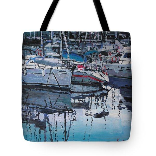 Spain Series 05 Port Del Balis Tote Bag