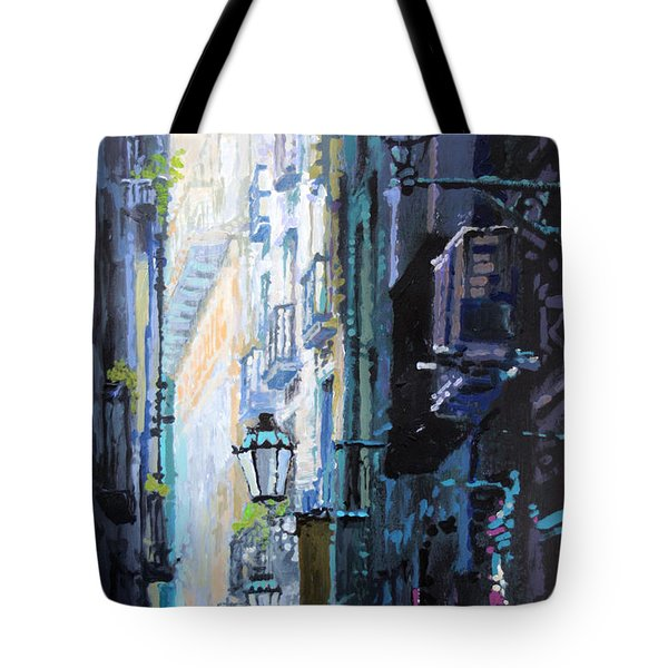 Spain Series 06 Barcelona Tote Bag