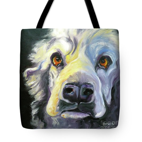 Spaniel In Thought Tote Bag
