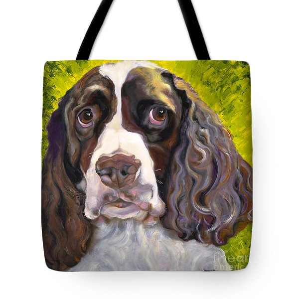 Spaniel The Eyes Have It Tote Bag