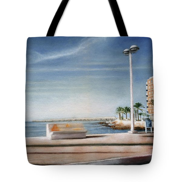 Spanish Coast Tote Bag
