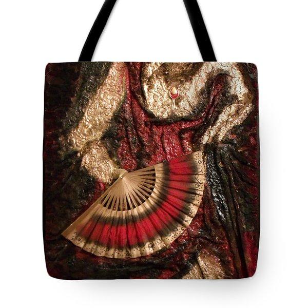 Spanish Dancer Framed Tote Bag