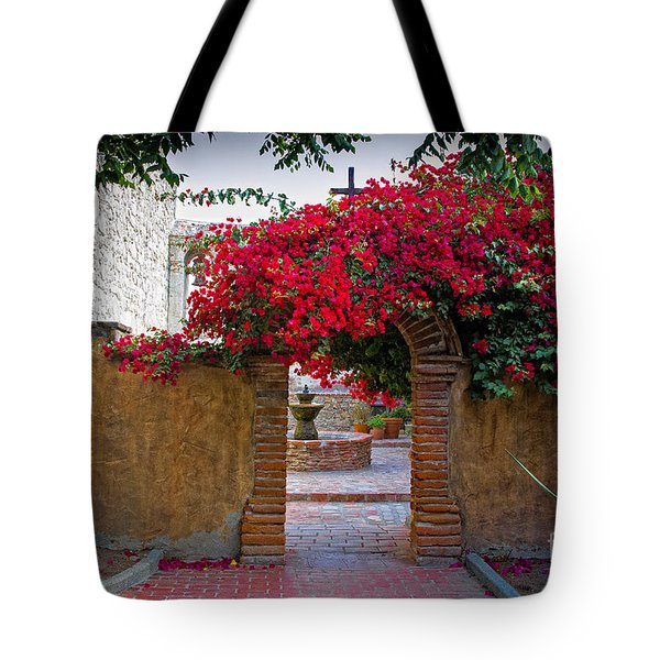 Spanish Mission Tote Bag