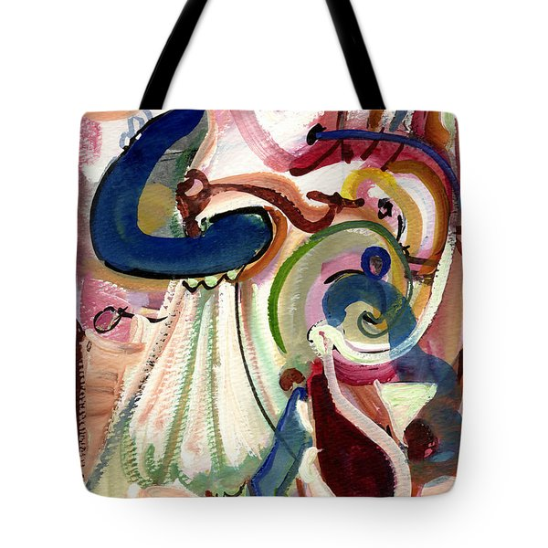 Spanish Rose Tote Bag