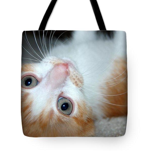Spankie Tote Bag by Holly Blunkall