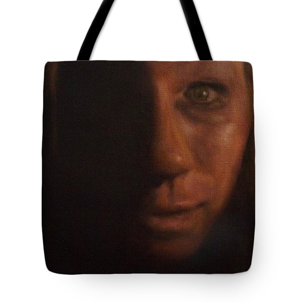 Tote Bag featuring the painting Spare Some Change by Cherise Foster