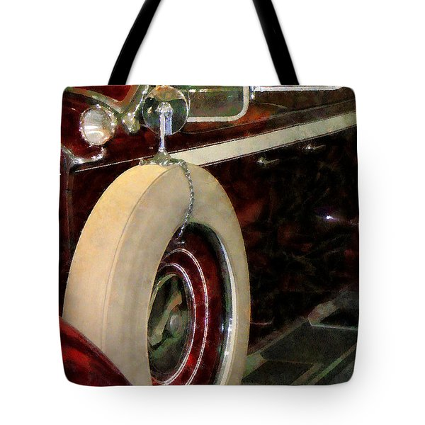 Spare Tire Tote Bag by Susan Savad