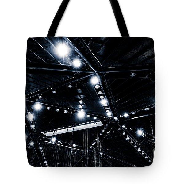 Spark Tote Bag by Noir Blanc